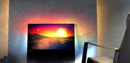 Inch Philips Ambilight Tv Glass Base