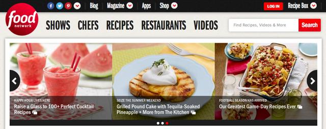 Food_Network_Homepage