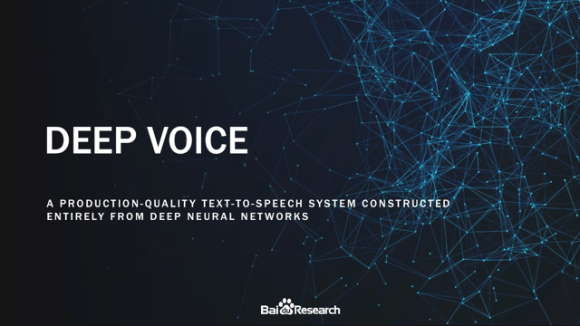 Baidu_Research_Deep_Voice
