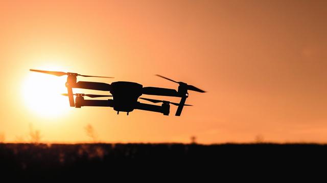 Drone_Sunset
